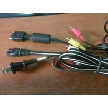 Cable Original De Audio , Video Y Power Sony - Para Play 2