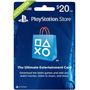 Play Station Network Psn Card $20 Store Usa Ps4 Ps3 Ps Vita