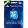 Play Station Network Psn Card $50 Store Usa Ps4 Ps3 Ps Vita