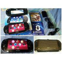 Play Station Ps Vita Wifi God Of War 8gb Cables Cambio