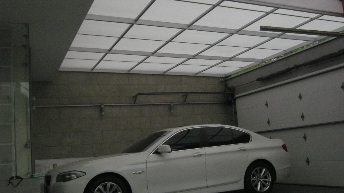 Policarbonato techo corredizos curvos sol y sombra - Techos de policarbonato precios ...