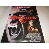 Poster Original De La Pelicula Dracula 3d