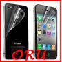 Mica Doble Para Iphone 4 4s Y Iphone 5 Protector De Pantalla