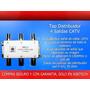 Tap Distribuidor 4 Salidas Antena Parabólica - Catv