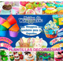 Kit Imprimible Cupcakes Wrappers Toppers Plantillas Fondos