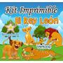 Kit Imprimible El Rey Leon + Candy Bar Personaliza Tu Fiesta