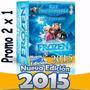 2x1 Kit Imprimible Frozen Invitaciones Candy Bar Cumples