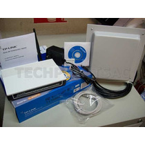 Kit Captura Wifi 3 Km Cliente Internet + Panel 15 Dbi 10 Mt