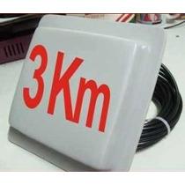 Antena 3 Km Extrema Todo Clima Cliente Internet Gratis Wifi