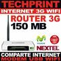 Router 3g 150 Mb Comparte Internet Modem Usb Movistar Claro