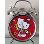 Reloj Despertador Estilo Vintage Hello Kitty De Mesa Alarma