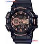 Reloj Casio G-shock Ga 400-1b Negro-100% Original Ztr