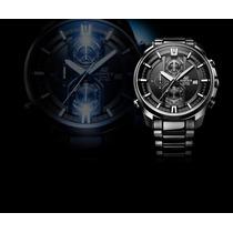 Reloj Casio Edifice Efr-533bk -100% Nuevo Y Original En Caja