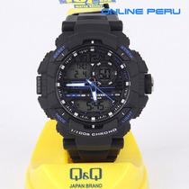 Reloj Q&q Deportivo Digital Analogico Tipo G - Shock Ndph