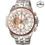 Reloj Casio Edifice Ef-558d-7av - 100% Nuevo Y Original