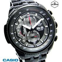 Reloj Casio Edifice Ef-558bk-1av - 100% Nuevo Y Original