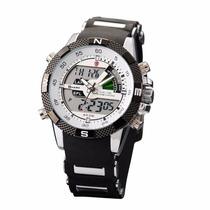 Reloj Shark Porbeagle, Análogo Y Digital, Cronometro