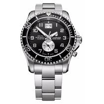 Reloj Swiss Army Victorinox 241441 Maverick Gs Doble Hora