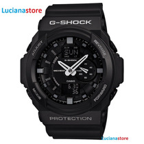Reloj Casio G-shock Ga-150-1a Negro Led 100% Original Ztr