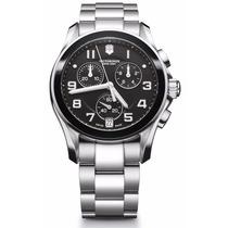 Reloj Victorinox Swiss Army 241544 Suizo Cronógrafo Nuevo