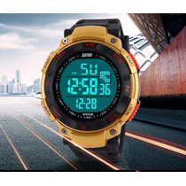 Reloj Skmei Fechero Alarma Led Doble Hora Digital Y Analogo