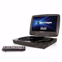 Dvd Y Television Portatil 7pulg Maxtron 180girat 300 Juegos
