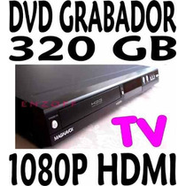 Grabador De Dvd Con Disco Duro 320gb Graba Tv Programable Hd