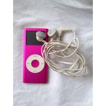 Ipod Nano 4gb Rosado! Con Audifonos Y Cargador Gratis!