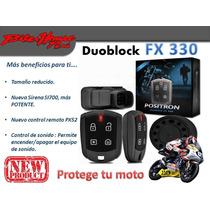 Alarma Para Moto Pst Positron Duoblock Fx330 Modelo 2014