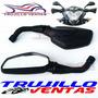 Espejos Pulsar Ns200 Bajaj Ns 200 Espejo Tuning Moto