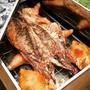 Catering Chef Parrilla Cilindro Al Palo Grill Caja China