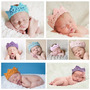 Vinchas Coronita-diadema Tejida Para Bebes-0 A 12 Meses