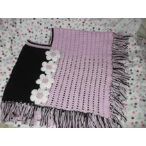 Lindos Ponchos,tejidos A Crochet Y Dos Agujas Regalo Ideal
