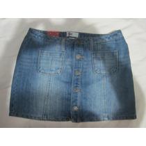 Hermosa Minifalda De Jean Para Dama Marca So Talla 30