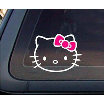 Stickers De Hello Kitty Para Tu Auto!!