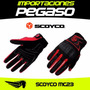 Guantes Moto Scoyco Mc23 Reforzado S/59 Importaciones Pegaso
