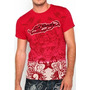 Ed Hardy Polo / T-shirt Manga Corta Original Hecho En Usa