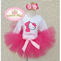 Hello Kitty Para Niña,bebe Vestido Tutu Cumpleaños, Oferta !