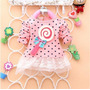 Poli Tutu Manga Larga Rosado Con Diseño 3d Bebe