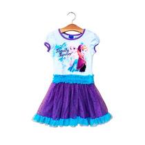Vestido Elsa Frozen Disney En Stock Nuevos Importados