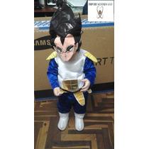 Disfraz Disfraces Vegeta Dragon Ball Niños Halloween Peluca