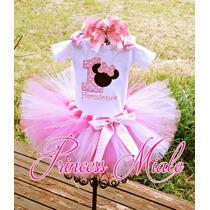 Minnie Mouse Tutu Vestido Niña Bebe Cumpleaños Fiesta Oferta