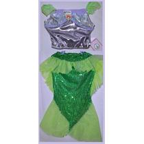 Disfraz De La Sirenita Niña 6 Años Disney Original (abb-29)
