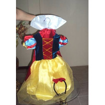Vestido Princesas Disney Rapunzel Cenicienta Jazmin Blancani