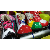 Zapato Para Payasos Luces Navidad Led