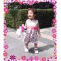 Vestido Para Niña O Bebe Exclusivo Y De Calidad Ashira