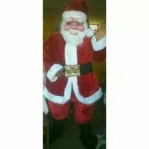 Disfras De Papa Noel Completo Hora Loca Luces Navidad