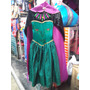 Elsa Anna Frozen Coronacion Vestido+corona+varita+peluca+cal