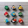 Jibbitz Angry Birds Pines Adornos Crocs 9 Unid X 20 Soles