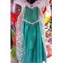 Disfraz Disfraces Vestido Princesa Elsa Frozen Fever Peluca